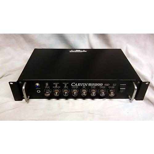 Carvin B2000 Tube Bass Amp Head-thumbnail