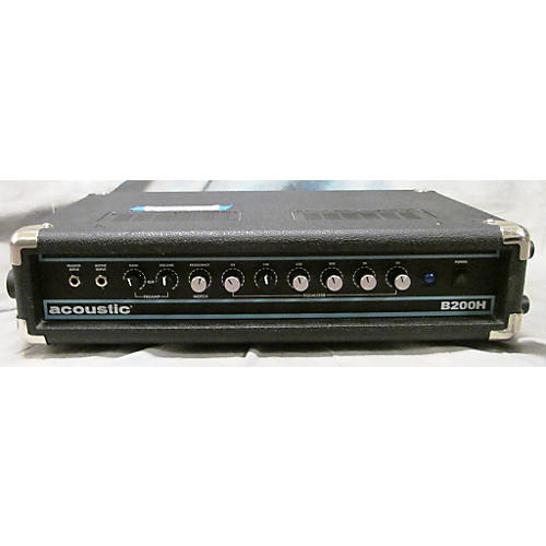 used acoustic b200h 200w bass amp head black guitar center. Black Bedroom Furniture Sets. Home Design Ideas