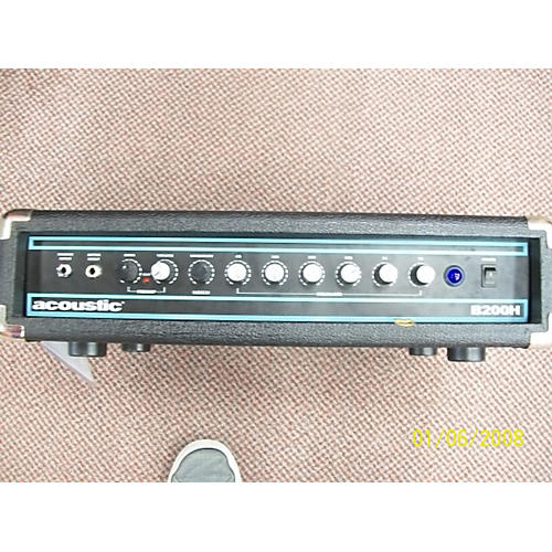 Acoustic B200H 200W Bass Amp Head-thumbnail