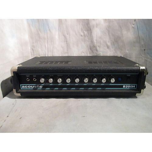 Acoustic B200H 200W Bass Amp Head