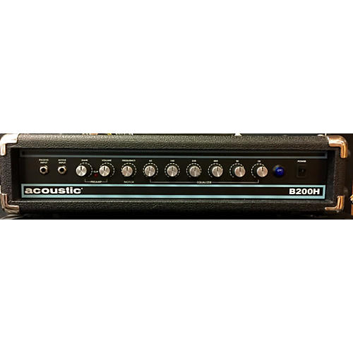 Acoustic B200H 200W Bass Amp Head