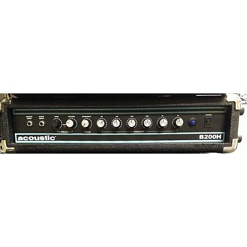 Acoustic B200H 200W Bass Amp Head-thumbnail