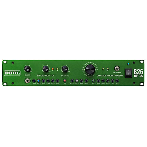 Burl B26 Orca 6 Stereo Input Control Room Monitor