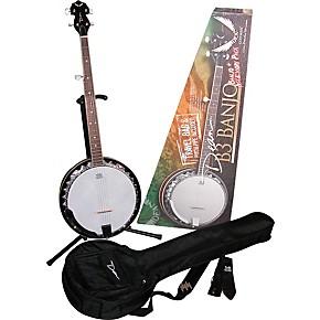 dean b3 banjo pack gloss guitar center. Black Bedroom Furniture Sets. Home Design Ideas
