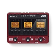 Zoom B3 Bass Effects and Amp Simulator