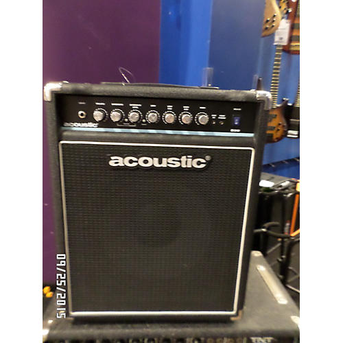 Acoustic B30 Black And White Bass Combo Amp