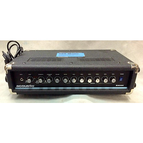 used acoustic b300h 300w bass amp head guitar center. Black Bedroom Furniture Sets. Home Design Ideas
