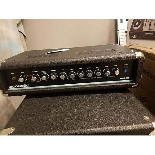 Acoustic B300H 300W Bass Amp Head-thumbnail