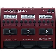 Zoom B3n Multi-Effects Bass Guitar Processor Level 1