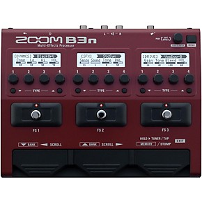 zoom b3n multi effects bass guitar processor guitar center. Black Bedroom Furniture Sets. Home Design Ideas