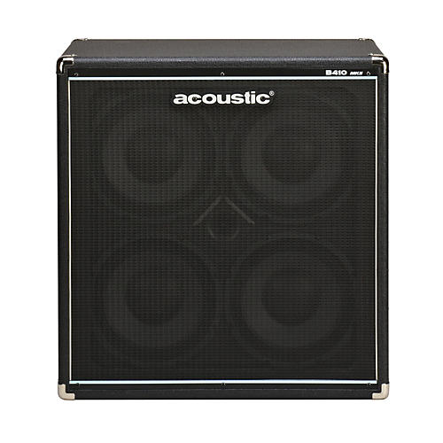 Acoustic B410mkII 4x10 Bass Speaker Cab Black-thumbnail