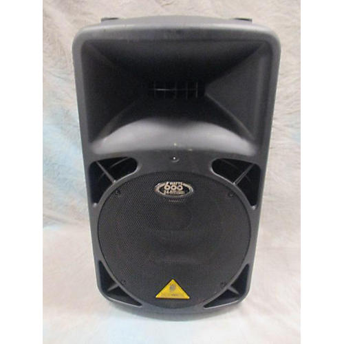 Behringer B412DSP 600W Black Powered Speaker