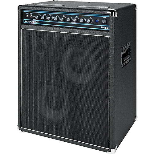 Acoustic B450 450W 2x10 Bass Combo Amp Black