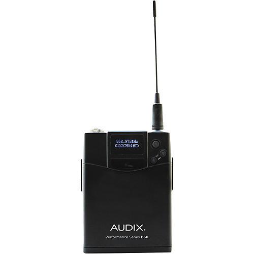 Audix B60 Bodypack Transmitter 518-554 MHz-thumbnail