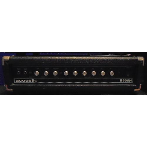 Acoustic B600H 600W Bass Amp Head