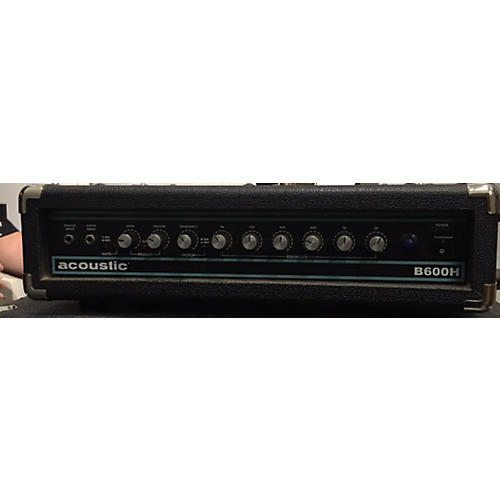 Acoustic B600H 600W Bass Amp Head-thumbnail