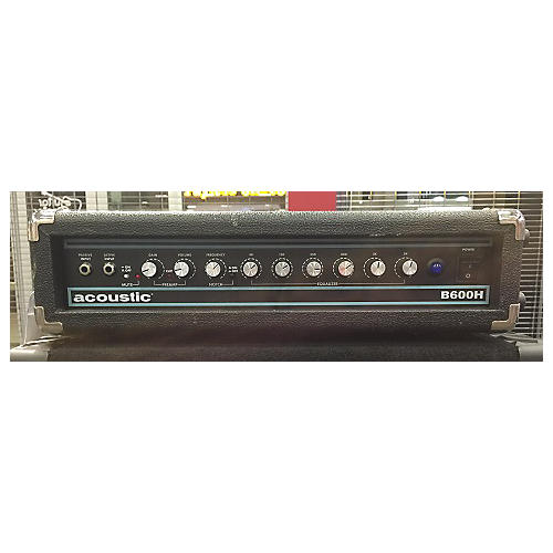 used acoustic b600h 600w bass amp head guitar center. Black Bedroom Furniture Sets. Home Design Ideas