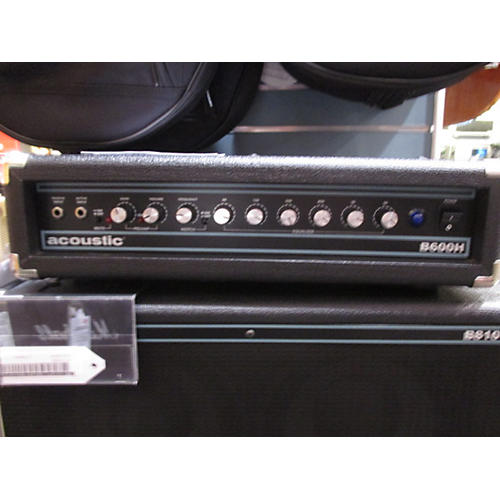 Acoustic B600H 600W Black Bass Amp Head