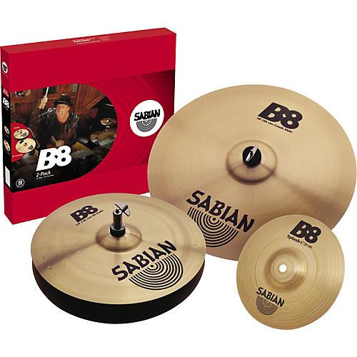 Sabian B8 14HH/18 Cymbal Pack-thumbnail