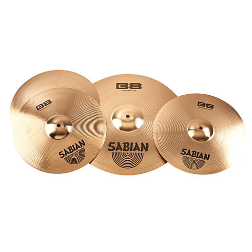 Sabian B8 Performance 2 Pack with Free 14 Inch Crash-thumbnail
