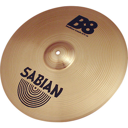 Sabian B8 Series Medium Crash Cymbal  16 in.