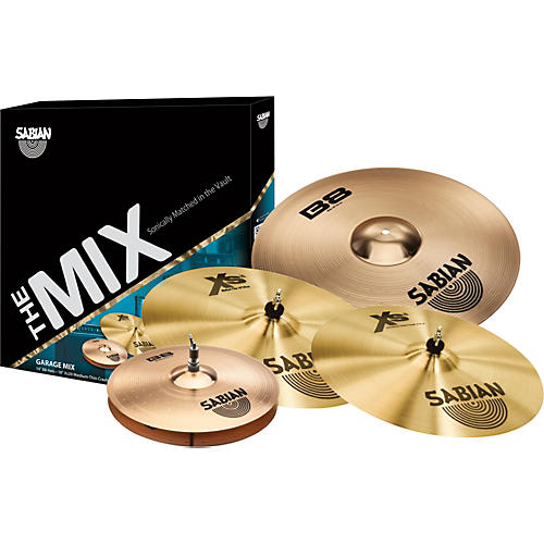 Sabian B8/XS20 Mix Cymbal Pack