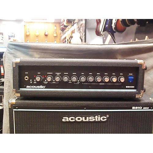 Acoustic B800H 800W Bass Amp Head-thumbnail