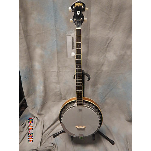 Washburn B9 5 String Natural Banjo