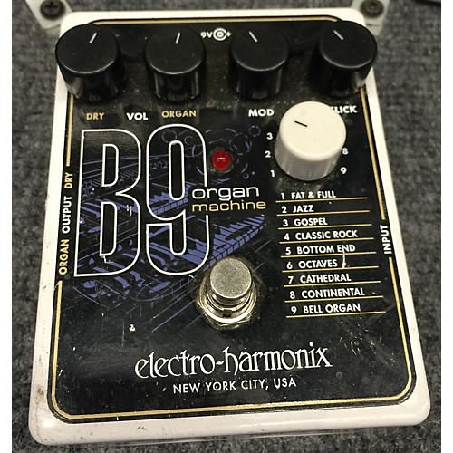 Electro-Harmonix B9 Organ Machine Effect Pedal