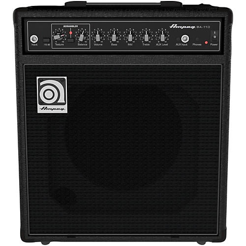 ampeg ba110v2 1x10 bass combo amplifier guitar center. Black Bedroom Furniture Sets. Home Design Ideas
