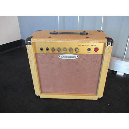 In Store Used BA30 30W 1x12 Bass Combo Amp