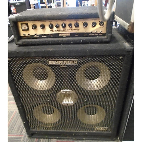 Used Behringer BA410 Ultrabass 4x10 1000W Bass Cabinet | Guitar Center