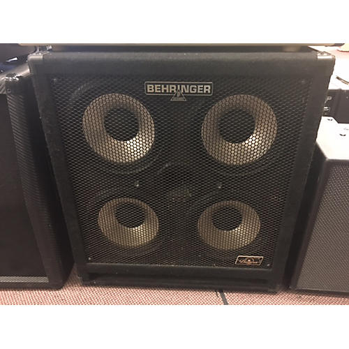 Used Behringer Ba410 Ultrabass 4x10 1000w Bass Cabinet