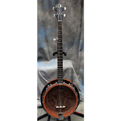 used luna guitars banjo banjo guitar center. Black Bedroom Furniture Sets. Home Design Ideas