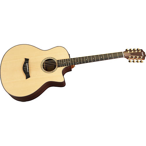 Taylor BAR-8-L Baritone Mahogany/Spruce 8-String Left-Handed Acoustic-Electric Guitar