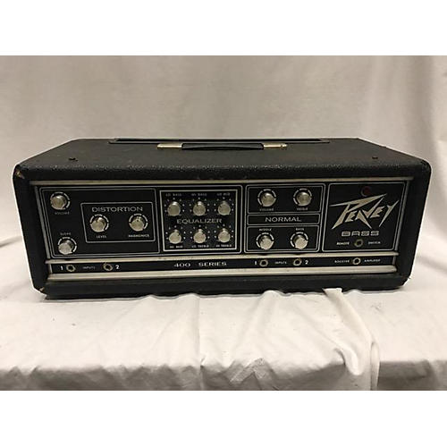 used peavey bass 400 tube bass amp head guitar center. Black Bedroom Furniture Sets. Home Design Ideas