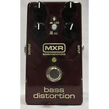 MXR BASS DISTORTION Bass Effect Pedal