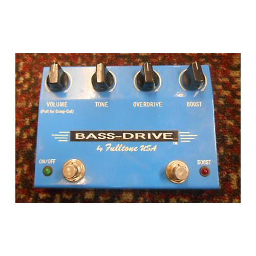 Fulltone BASS DRIVE Bass Effect Pedal