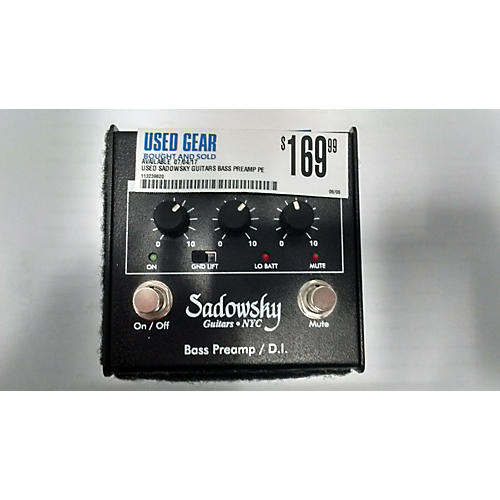 used sadowsky guitars bass preamp pedal guitar center. Black Bedroom Furniture Sets. Home Design Ideas