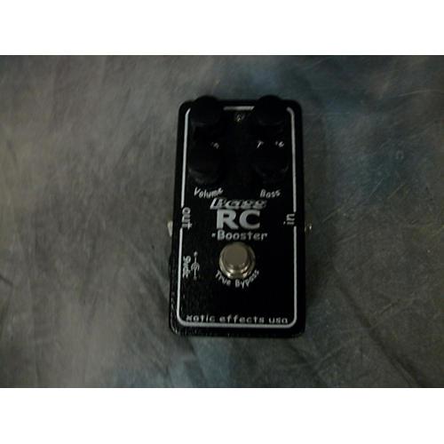 Xotic BASS RC BOOST Bass Effect Pedal