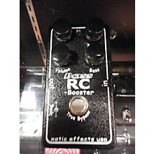 Xotic BASS RC BOOSTER Bass Effect Pedal