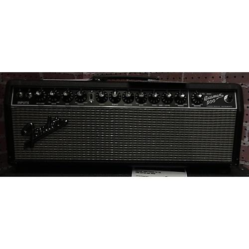 used fender bassman 500 bass amp head guitar center. Black Bedroom Furniture Sets. Home Design Ideas