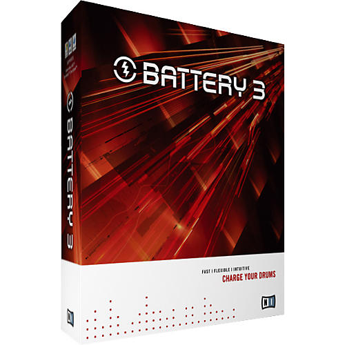 Native Instruments BATTERY 3 Drum Looping Software Update