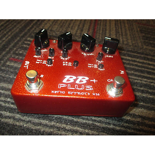 Xotic BB+ PREAMP OVERDRIVE Effect Pedal-thumbnail