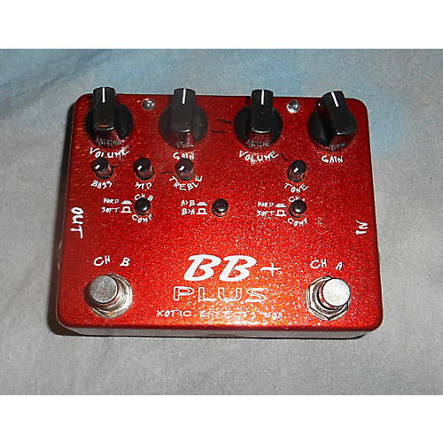 Xotic Effects BB Preamp Overdrive Effect Pedal-thumbnail