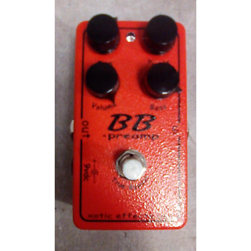 Xotic BB Preamp Overdrive Effect Pedal-thumbnail