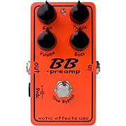 BB Preamp Overdrive Guitar Effects Pedal