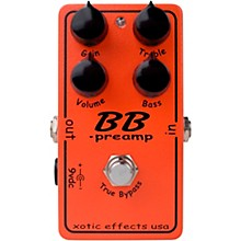 Xotic BB Preamp Overdrive Guitar Effects Pedal