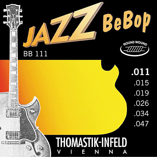 Thomastik BB111 Extra Light Jazz BeBop Guitar Strings-thumbnail
