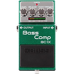Boss BC-1X Bass Compressor Effects Pedal by Boss